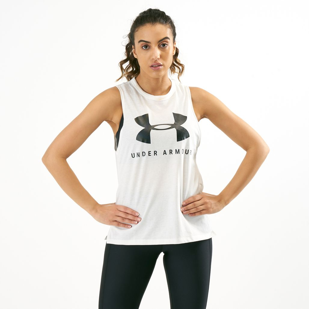 Under Armour Women's Sportstyle Graphic Muscle Tank Top
