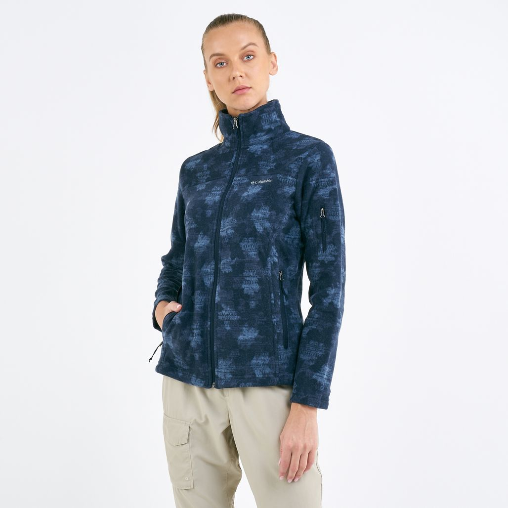 Columbia Women's Fast Trek Printed Fleece Jacket