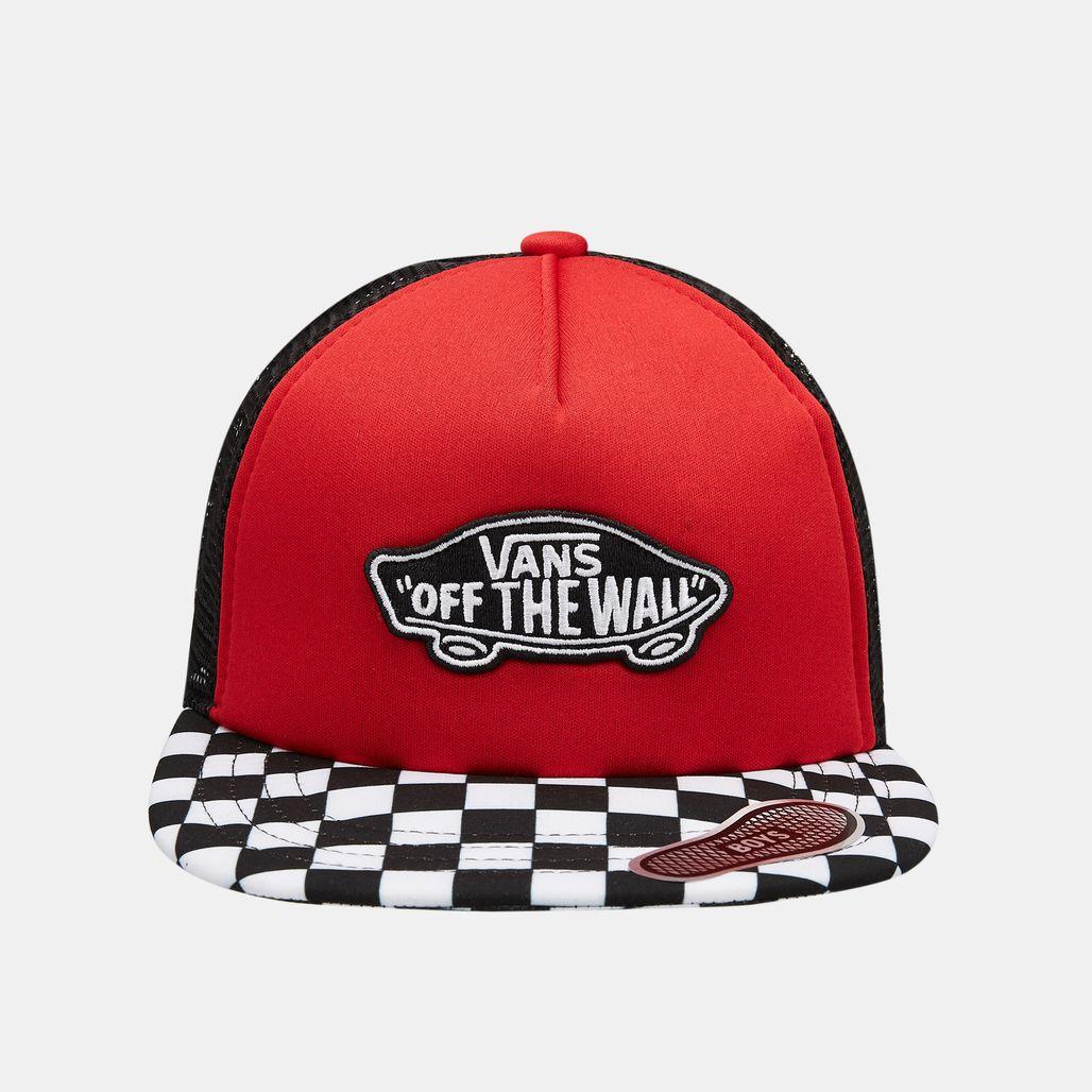 Vans Kids' Classic Patch Trucker Plus Cap (Older Kids) - Red