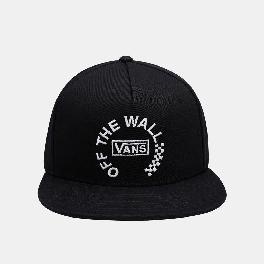 Vans Men's Distort Snapback Cap - Black