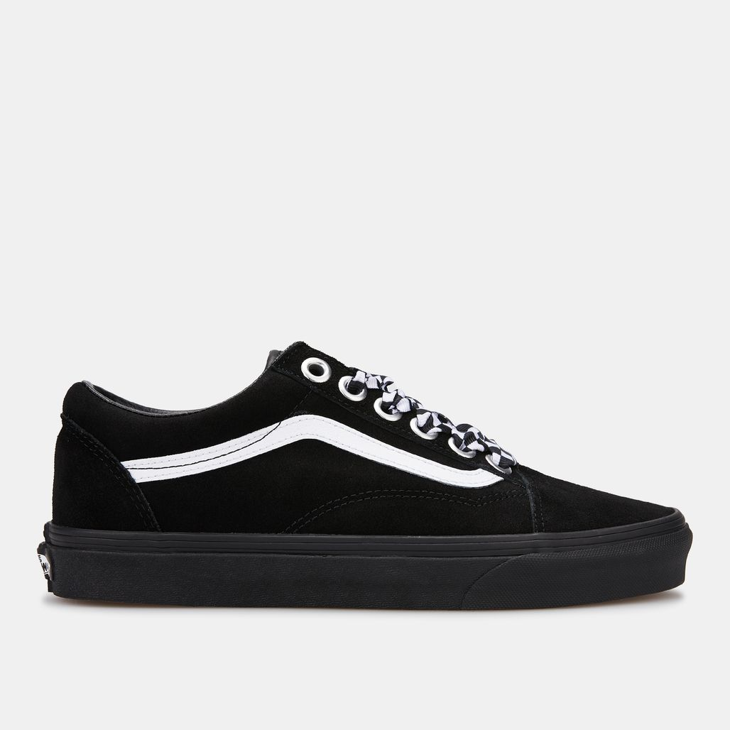 Vans Unisex Check Lace Old Skool Shoe