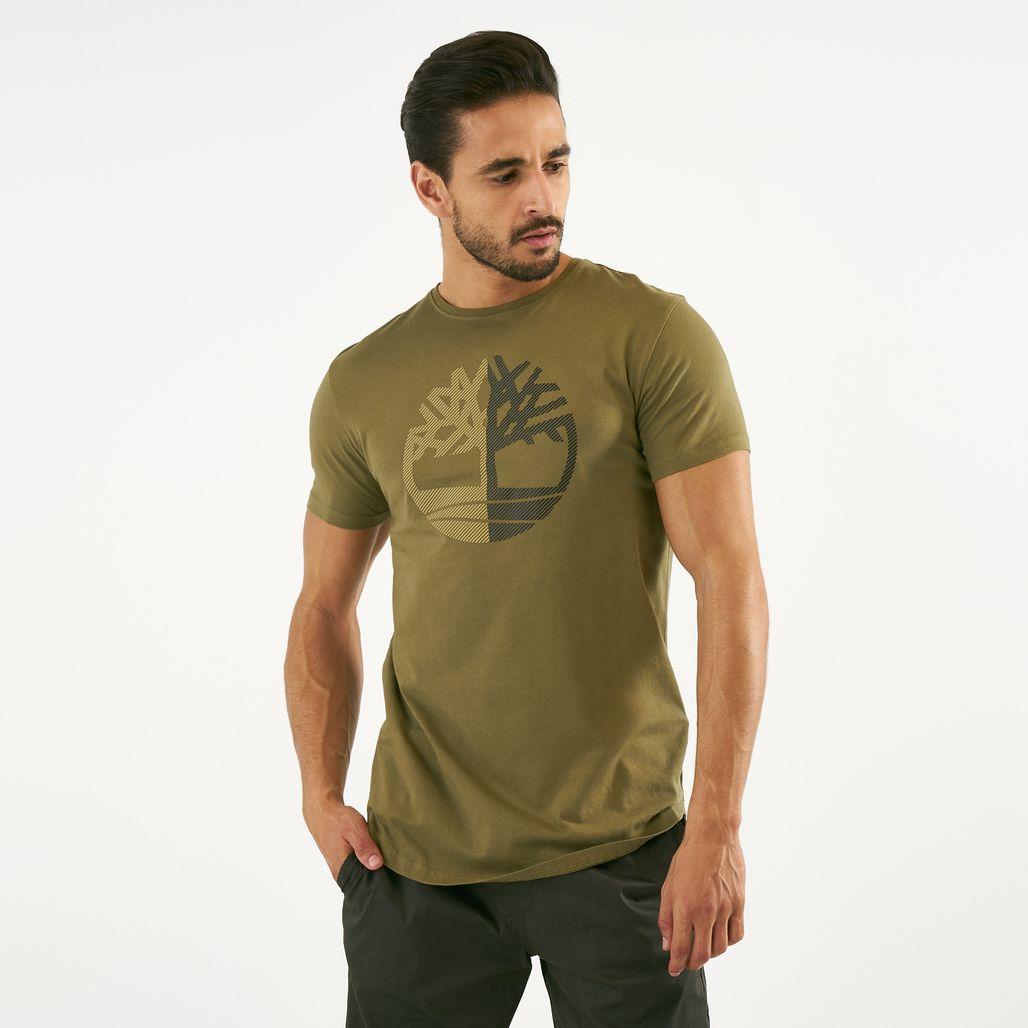 Timberland Men's Kennebec River Large Silicone Tree Slim T-Shirt