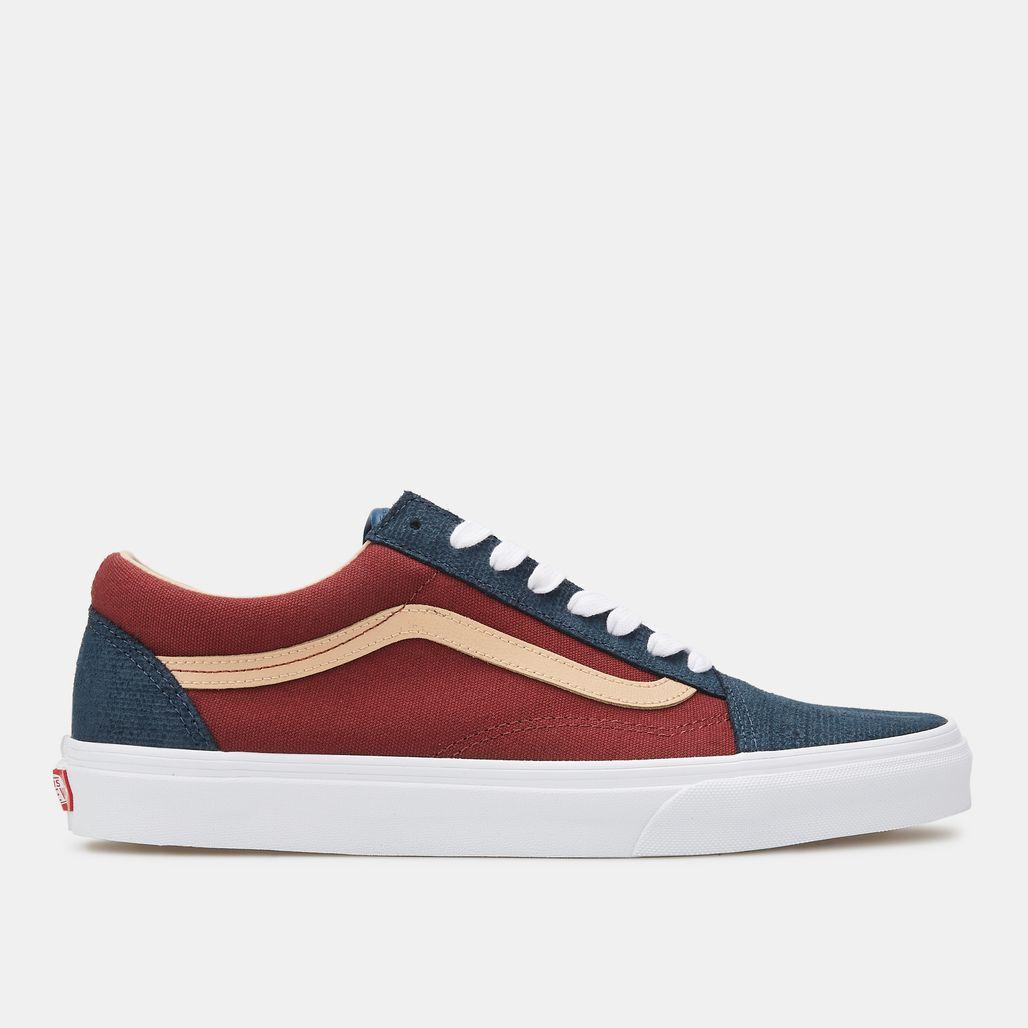 Vans Men's Textured Suede Old Skool Shoe