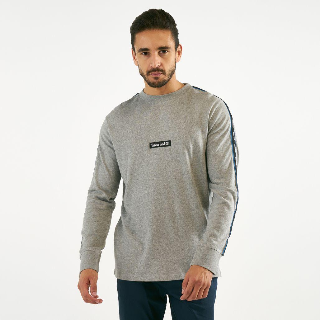 Timberland Men's Tape Long Sleeve T-Shirt