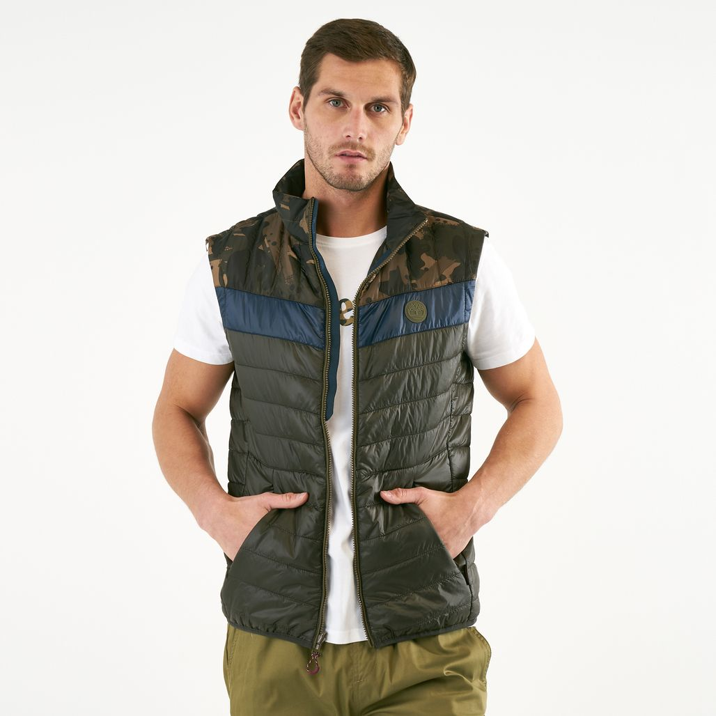Timberland Men's Syke Peak Vest Jacket