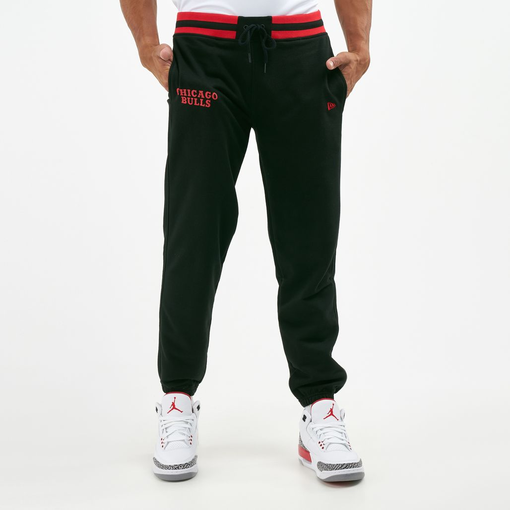 New Era Men's NBA Chicago Bulls Jogger Pants