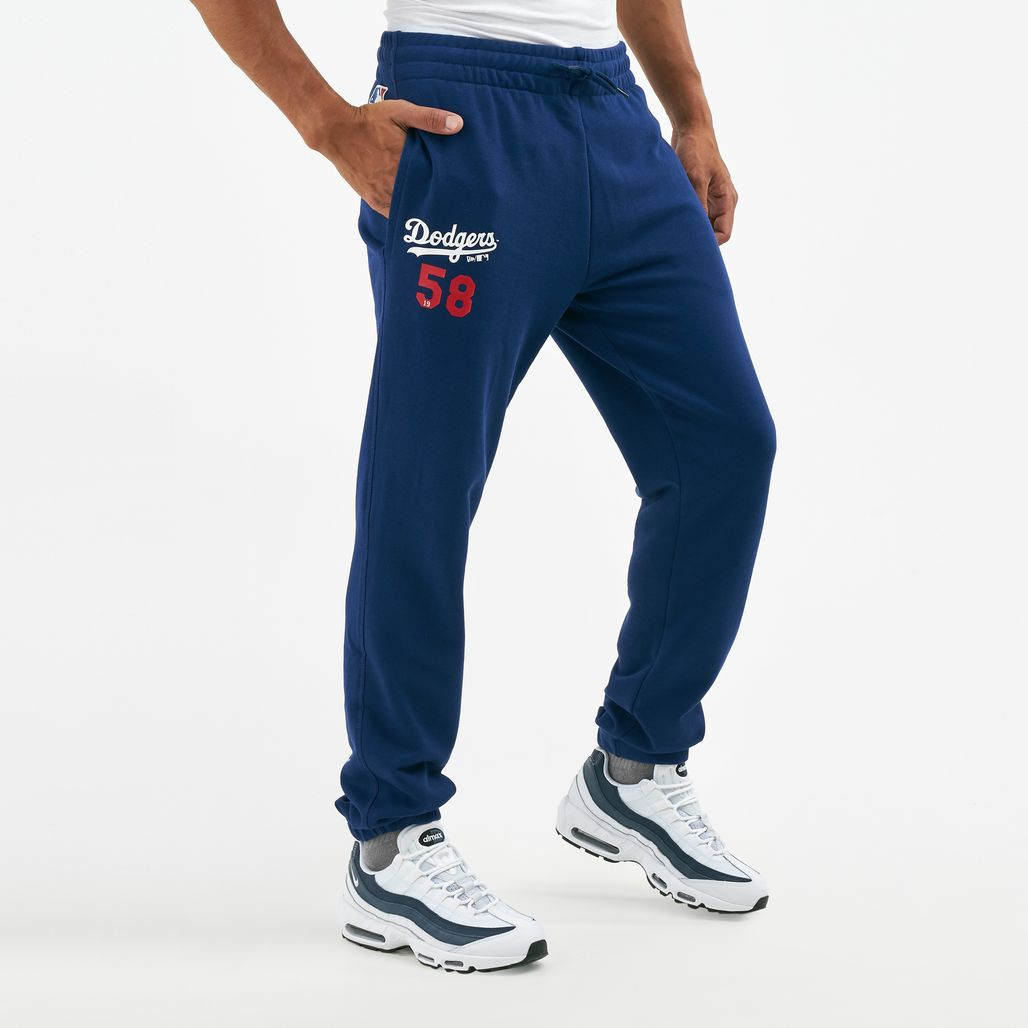New Era Men's MLB Los Angeles Dodgers Jersey Script Pants