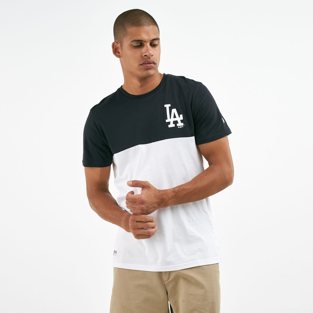 New Era Men's MLB New York Yankees Colour Block T-Shirt