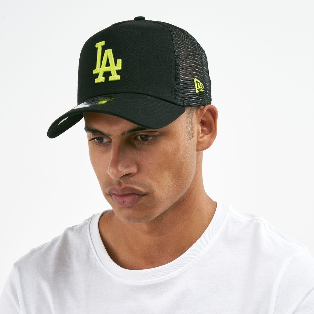 New Era Men's MLB LA Dodgers League Essential 9FORTY Cap - Black