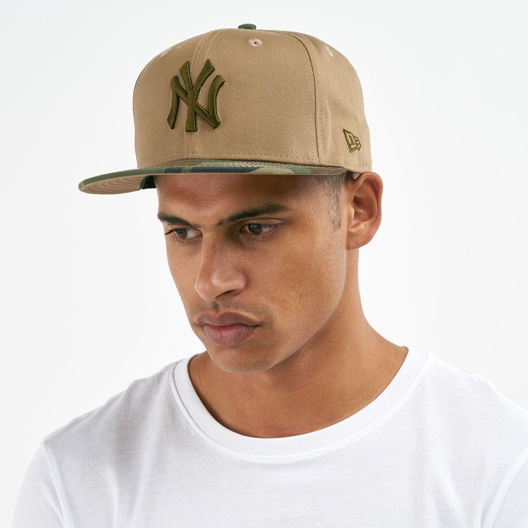 قبعة إم-إل-بي نيويورك يانكيز إسنشال كامو 59فيفتي من نيو ايرا للرجال