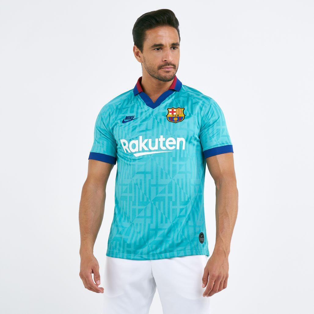 Nike Men's FC Barcelona Third Breathe Stadium Jersey T-Shirt - 2019/20