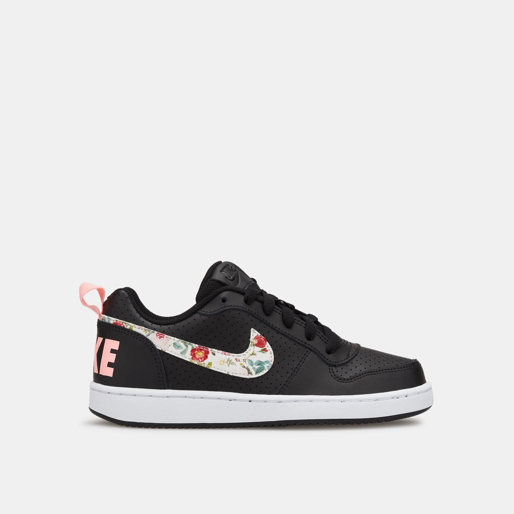 Nike Kids' Court Borough Low Vintage Floral Shoe (Older Kids)