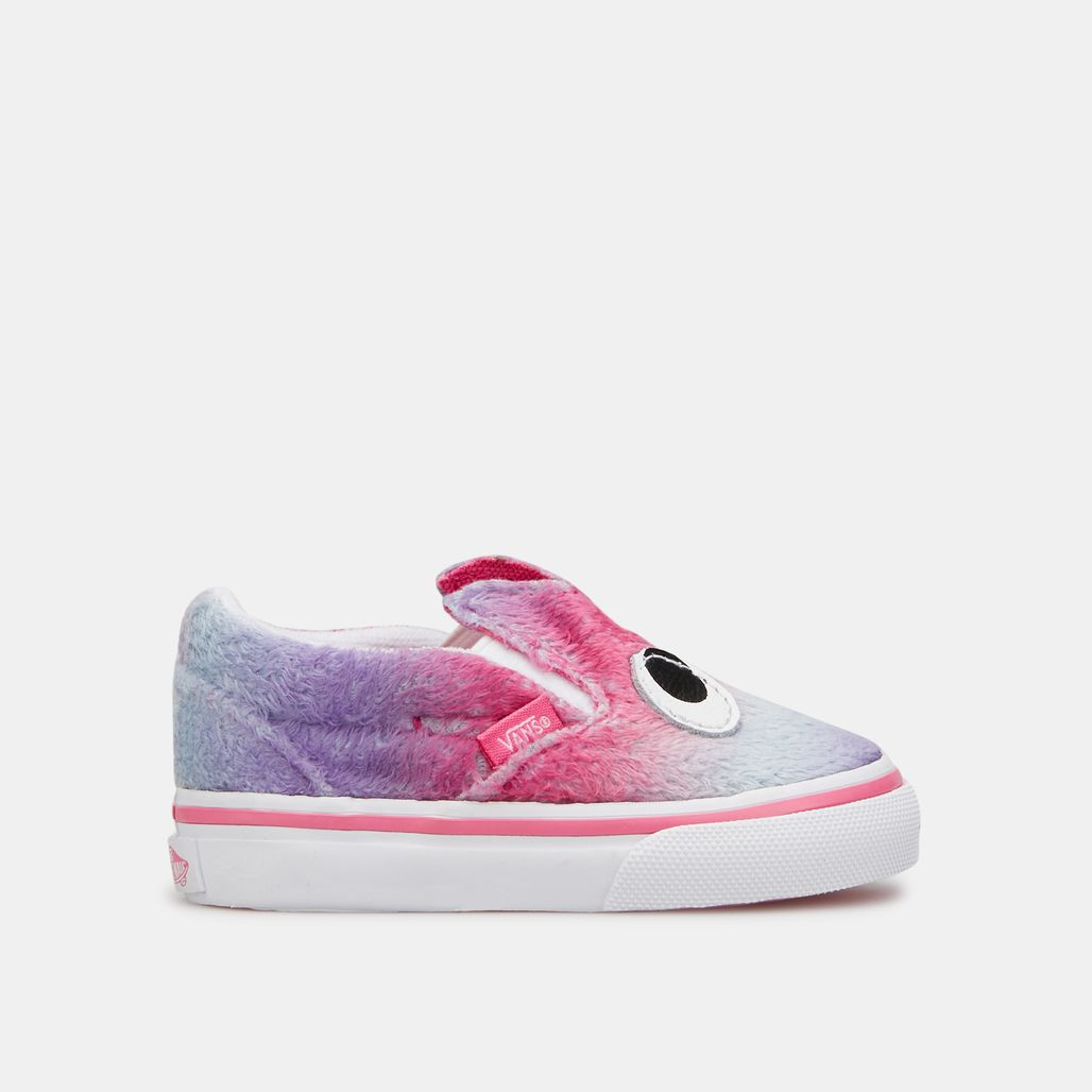 Vans Kids' Party Animal Slip-On Friend Shoe (Baby and Toddler)