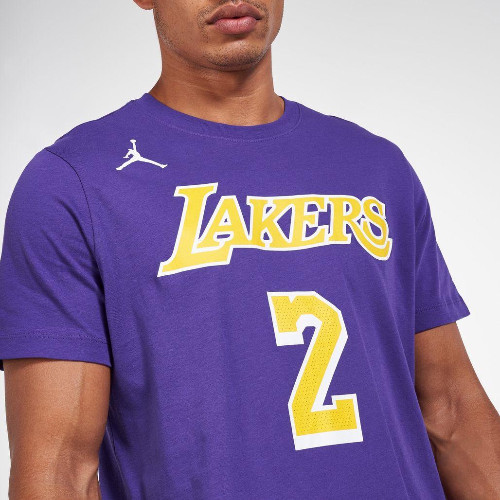 Nike Men's NBA LeBron James Los Angeles Lakers T-Shirt   T-Shirts ...