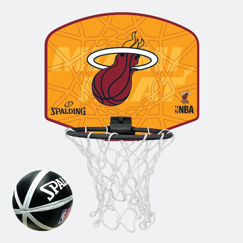 Spalding Kids' NBA Miami Heat Micro Mini Backboard Set - Multi