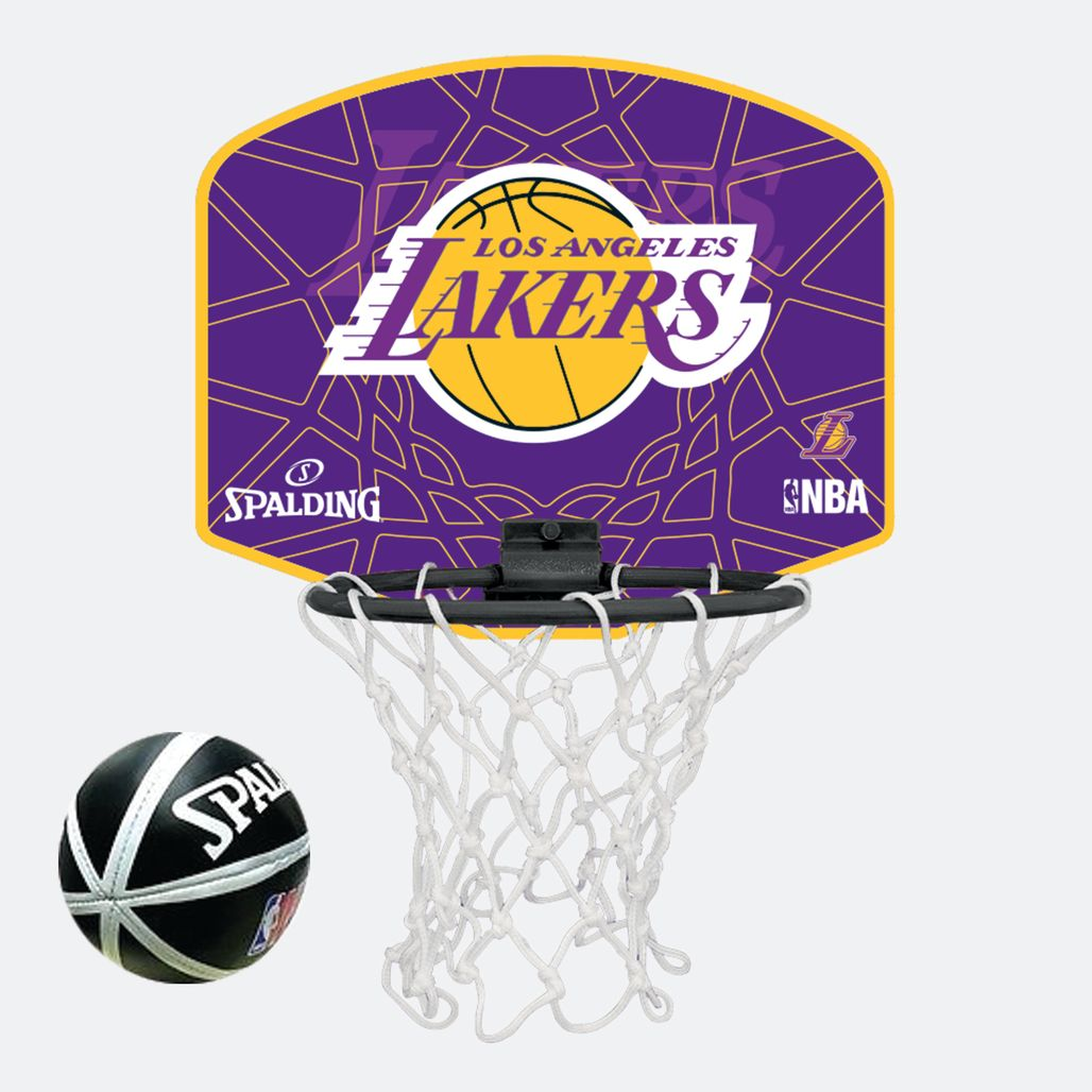 Spalding Kids' NBA Los Angeles Lakers Micro Mini Backboard Set - Multi