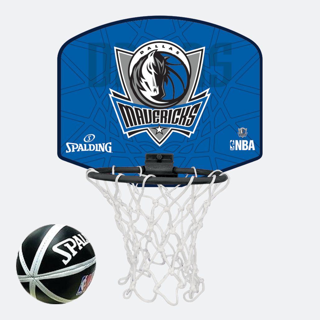 Spalding Kids' NBA Dallas Mavericks Micro Mini Backboard Set - Multi