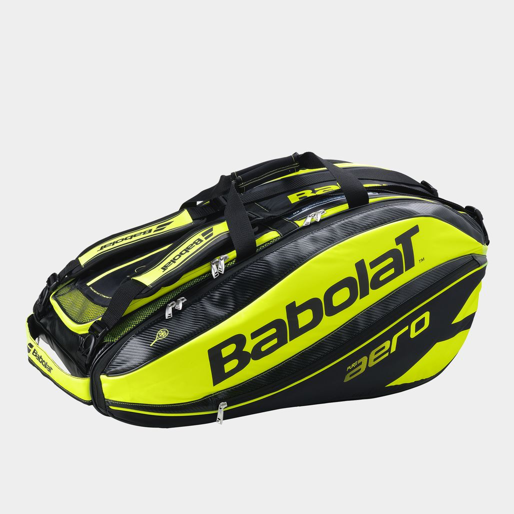 Babolat Pure Aero RH12 Tennis Racket Holder - Green