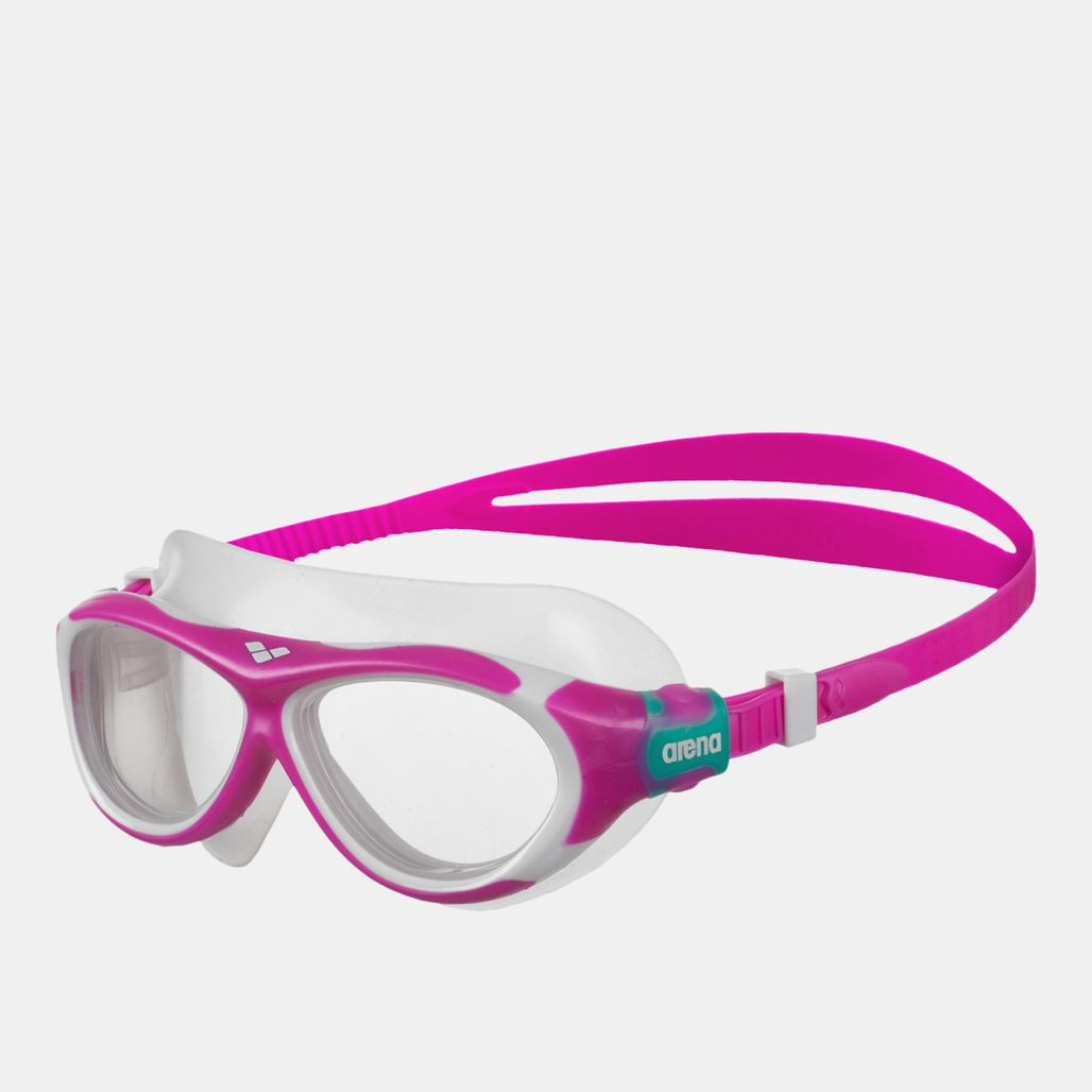 Arena Oblò Junior Swimming Goggles - Pink