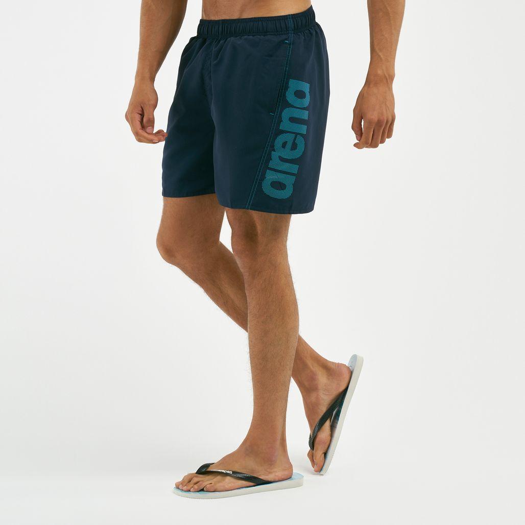 Arena Men's Fundamentals Logo Boxer Swim Shorts