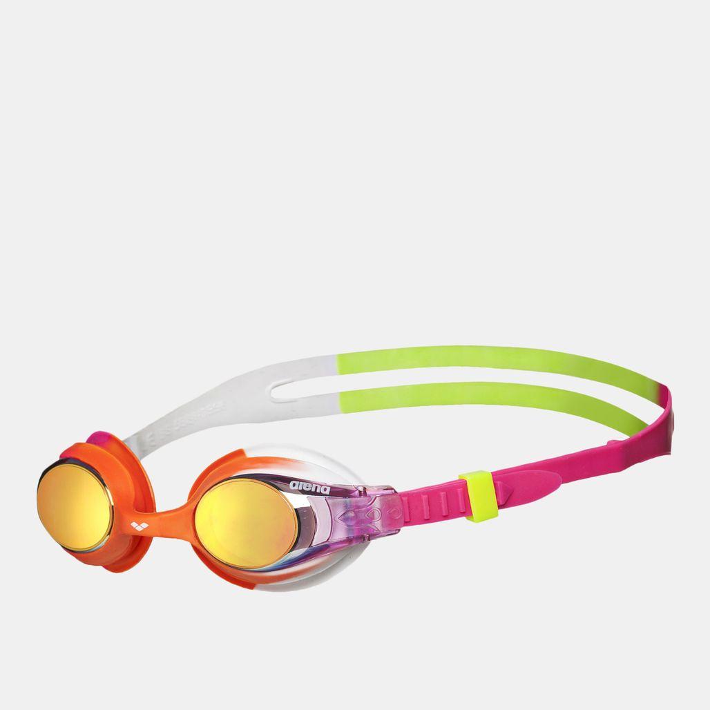 Arena Kids' X-Lite Mirror Goggles - Multi