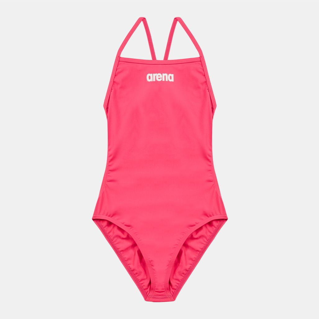 Arena Kids' Solid Light Tech Swimsuit