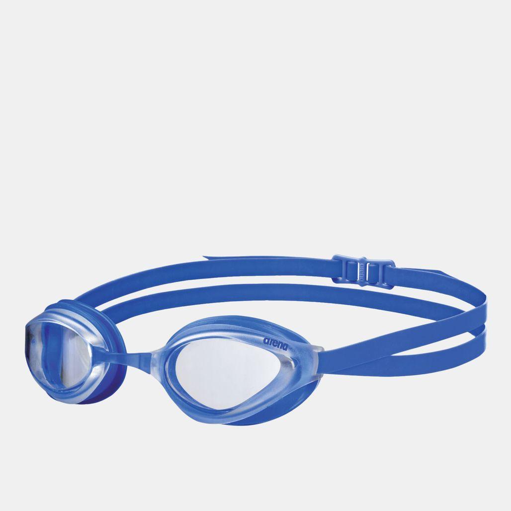 Arena Kids' Python Mirror Goggles - Blue
