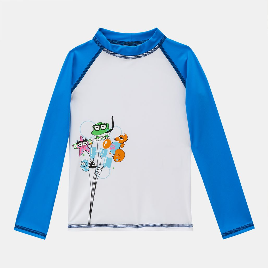 Arena Kids' Water Tribe UV Long Sleeve T-Shirt