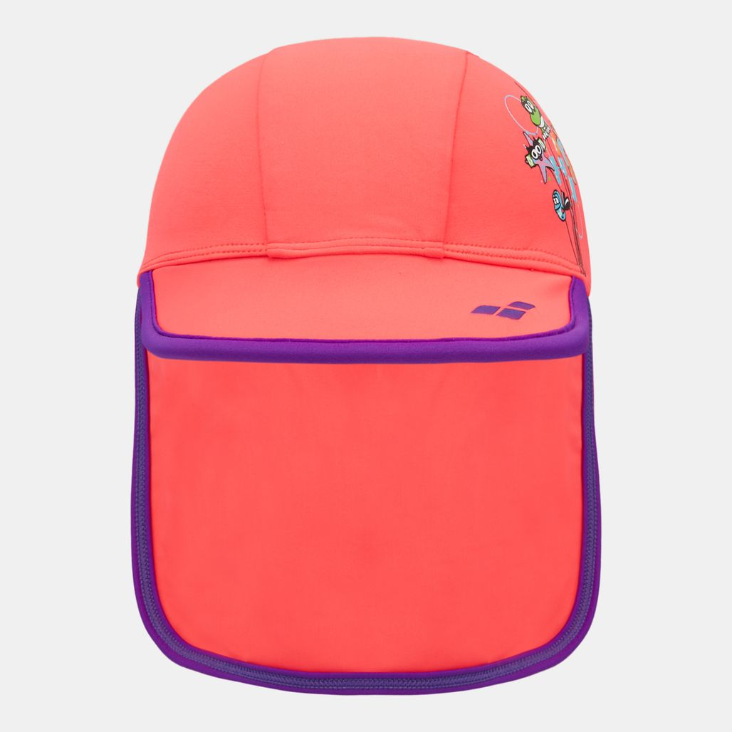 Arena Kids' Water Tribe Cap - Red