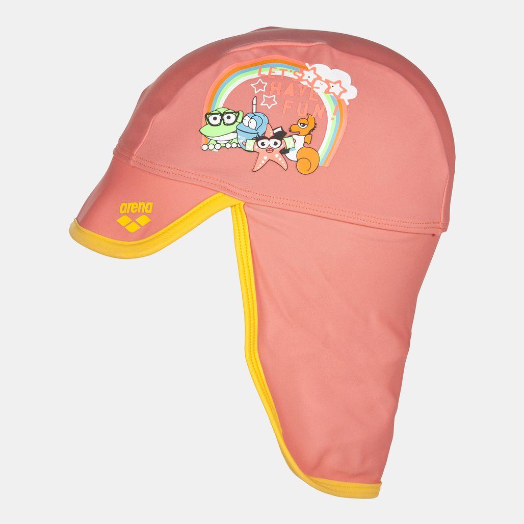 قبعة السباحة ووتر ترايب من ارينا للاطفال الرضّع - برتقالي