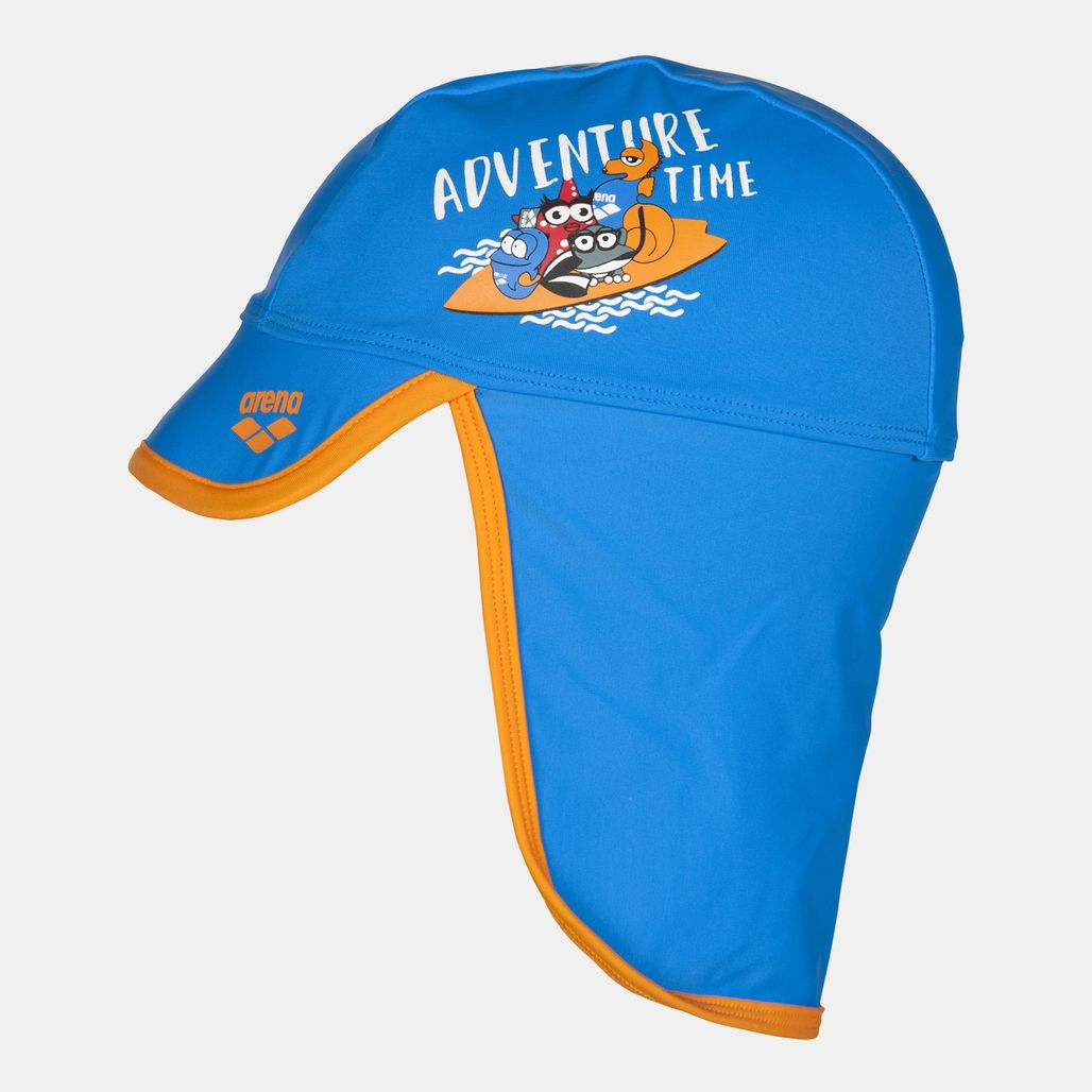 Arena Kids' Water Tribe Cap (Baby and Toddler) - Blue