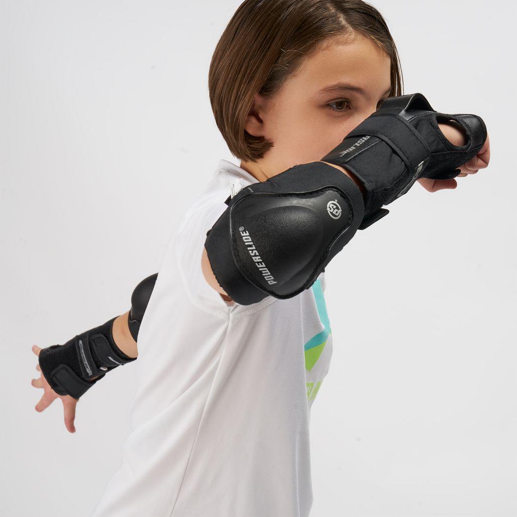 Powerslide Kids' PS Protection (Tri-Pack) - Black
