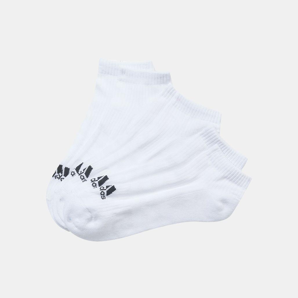 adidas 3 Stripes No Show Socks