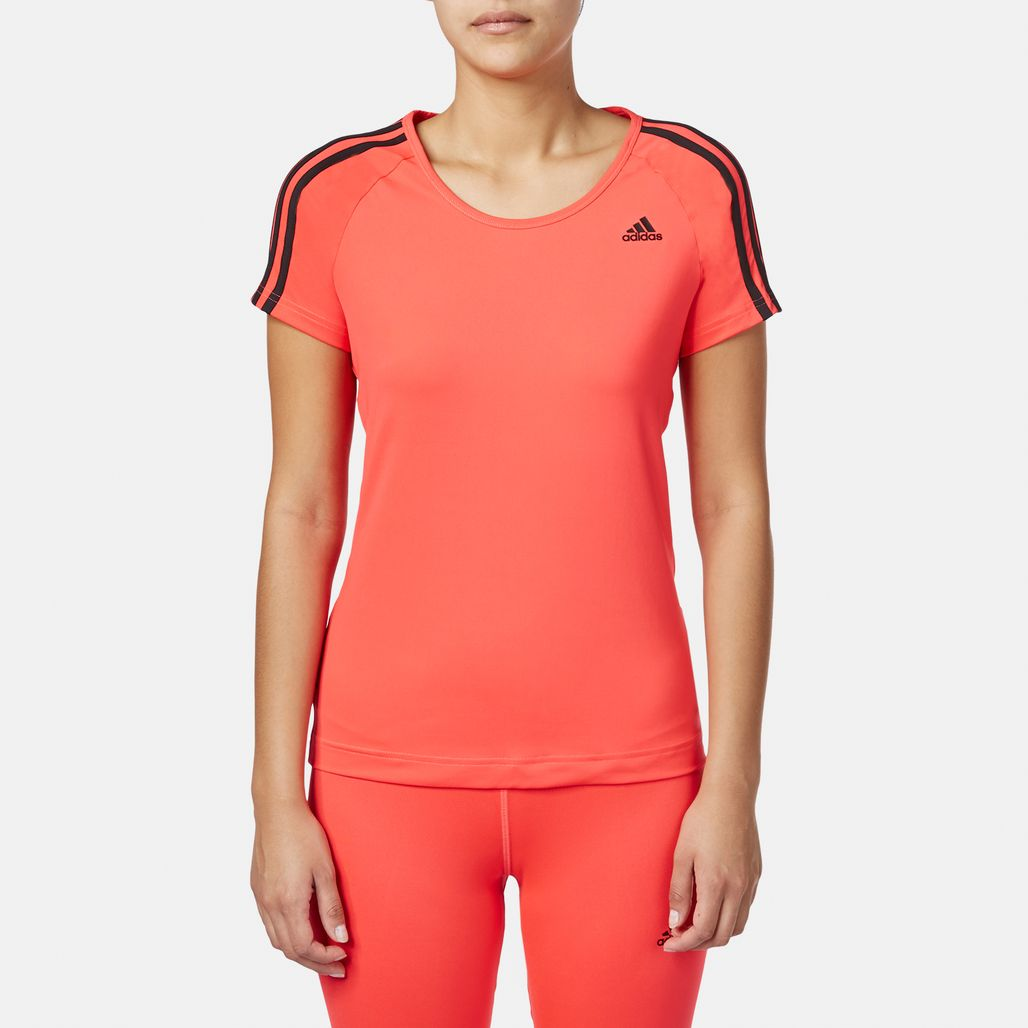 adidas Basic 3-Stripe T-Shirt