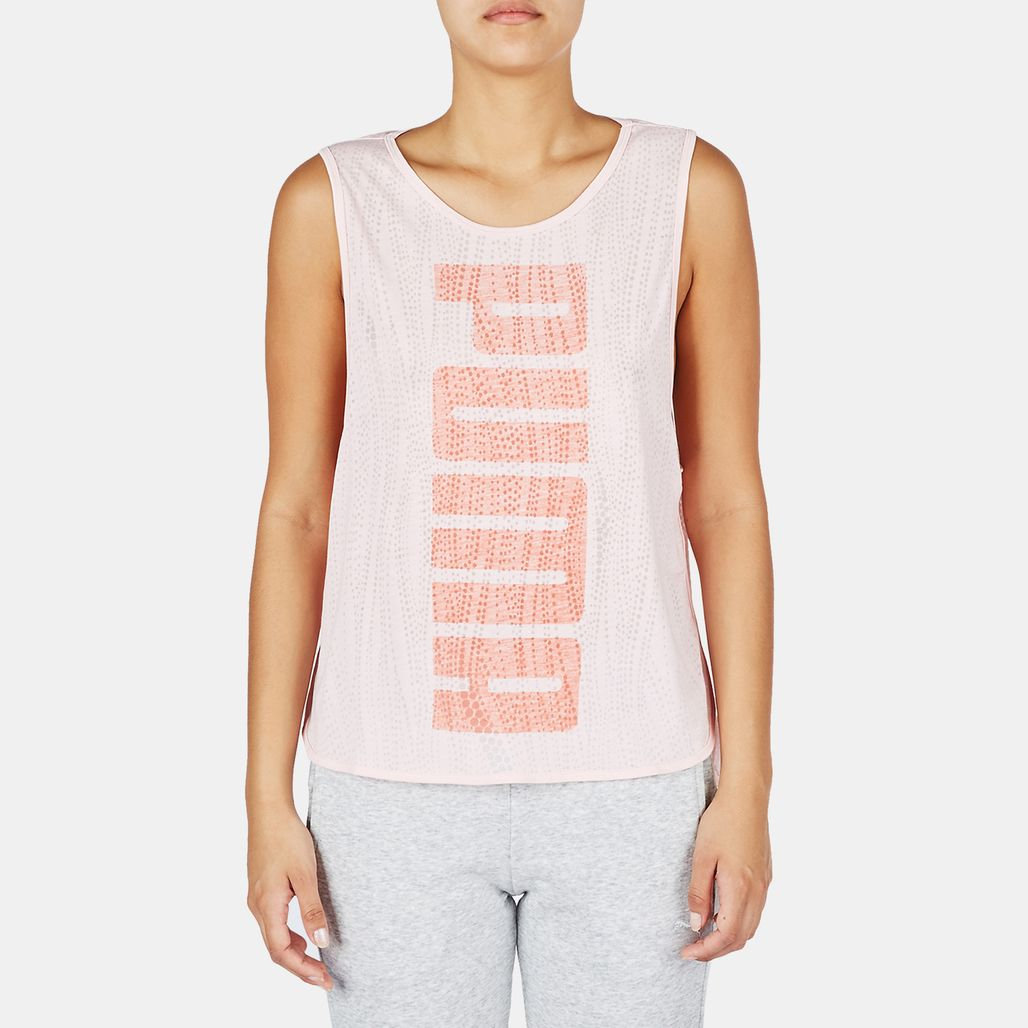 PUMA Layer Tank Top - Pink