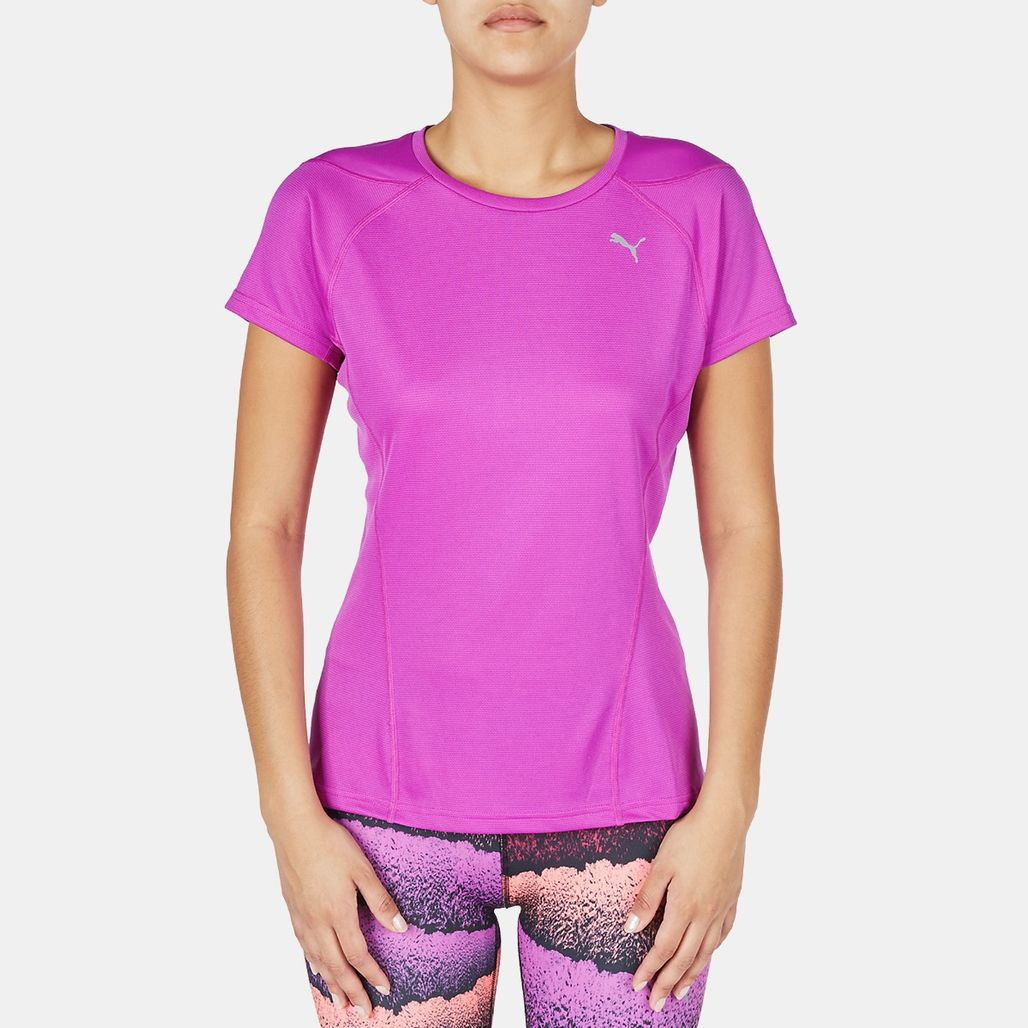 PUMA Faster Than You T-Shirt - Purple