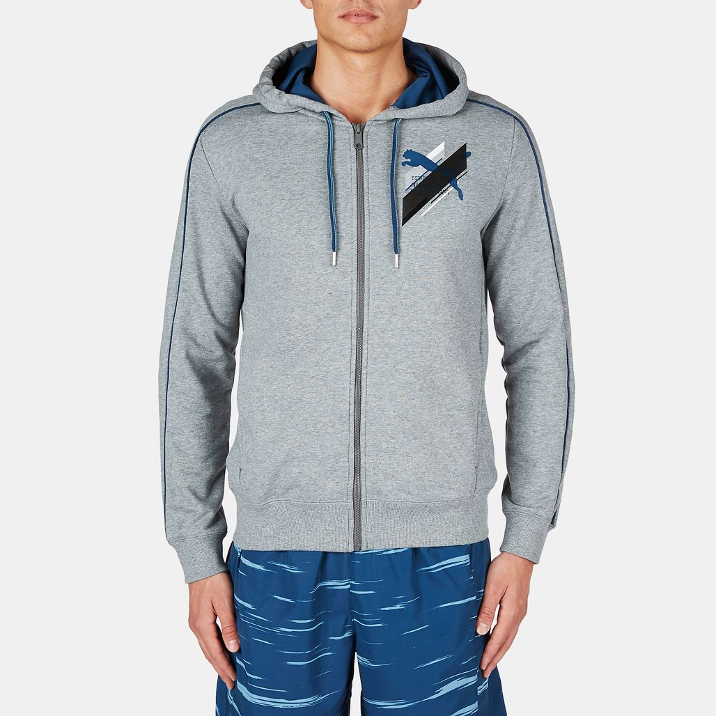 PUMA Fun Graphic Sweat Jacket