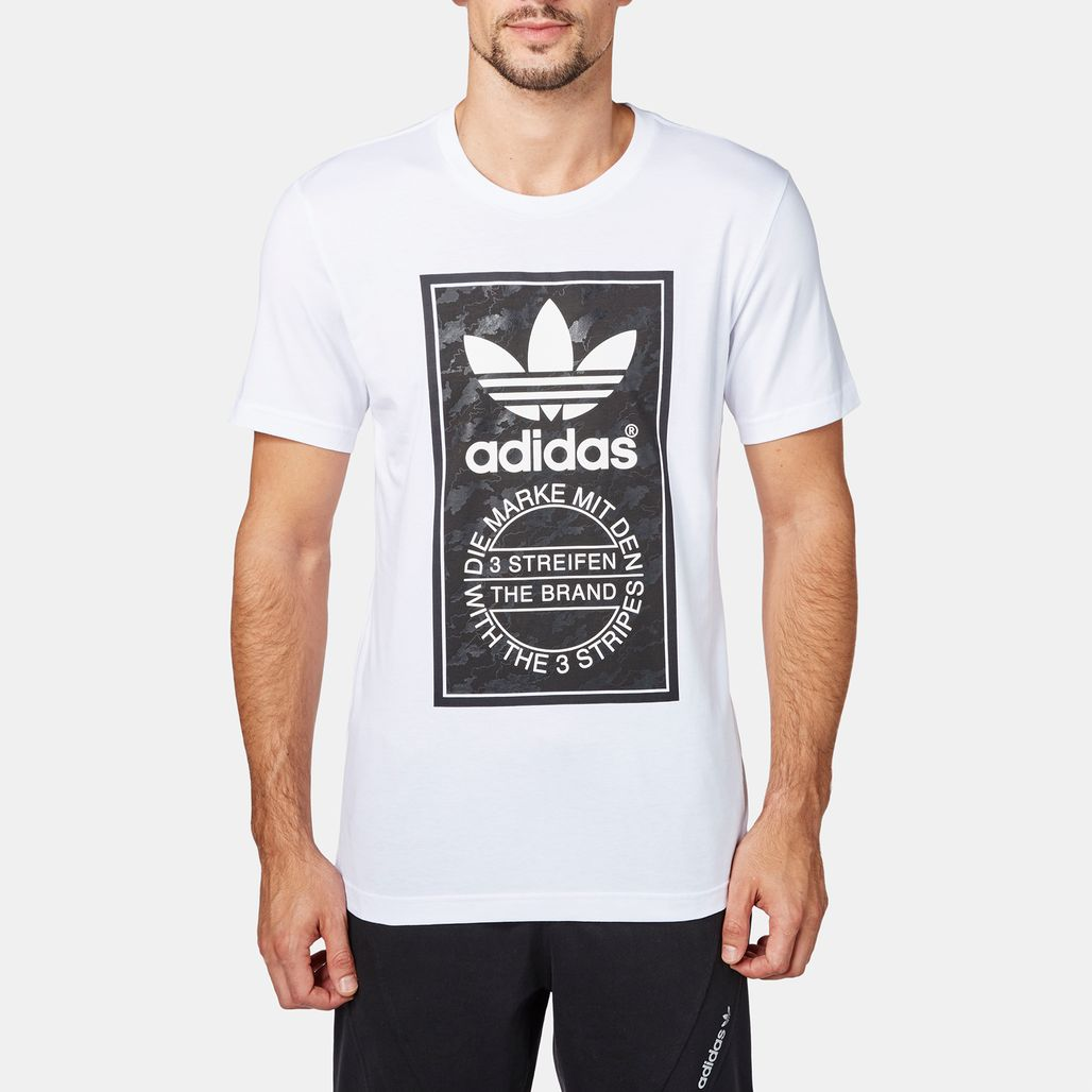 adidas Snow Camo Tongue Label T-Shirt