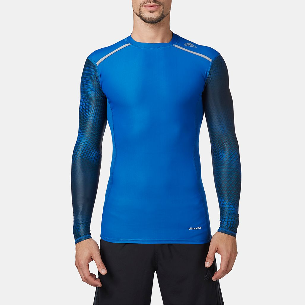 adidas TechFit™  Chill Long Sleeve T-Shirt