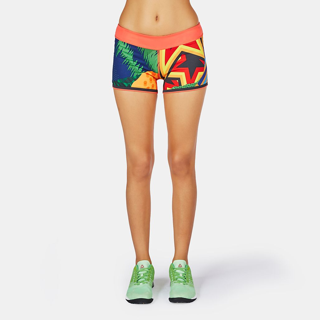 Reebok CrossFit Reversible Chase Bootie Shorts