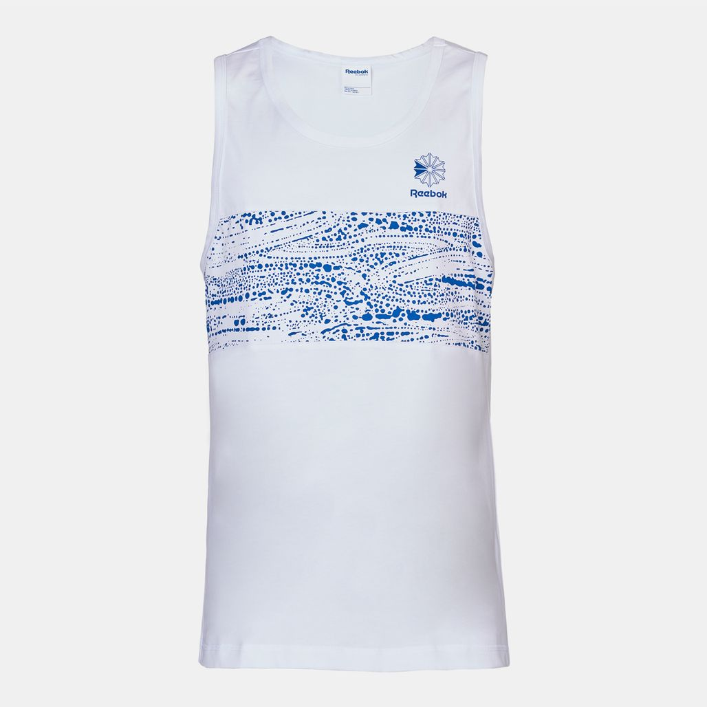 Reebok F Printed Tank Top