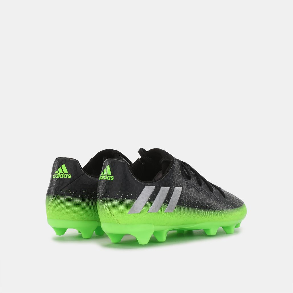 c65fe8b2e Shop Grey adidas Kids  Messi 16.3 Firm ground Football Shoe for Kids ...
