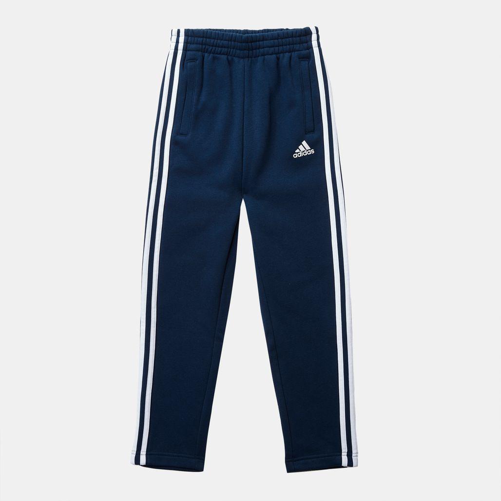 adidas Kids' Essentials 3-Stripes Fleece Pants