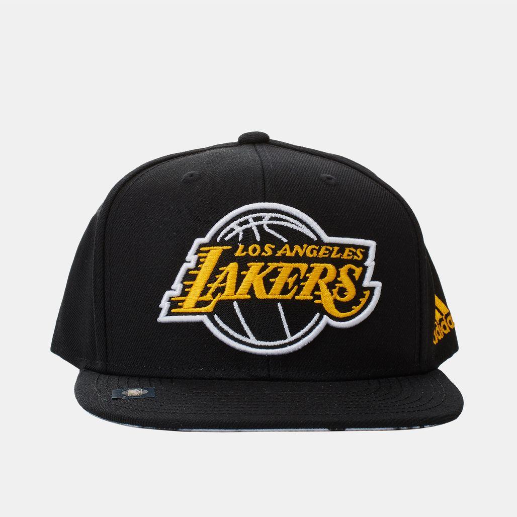 Shop Black adidas Lakers Basketball Cap for Mens by adidas ...