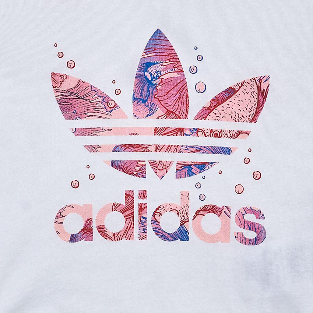 adidas Originals Kids' Graphic Trefoil T-Shirt