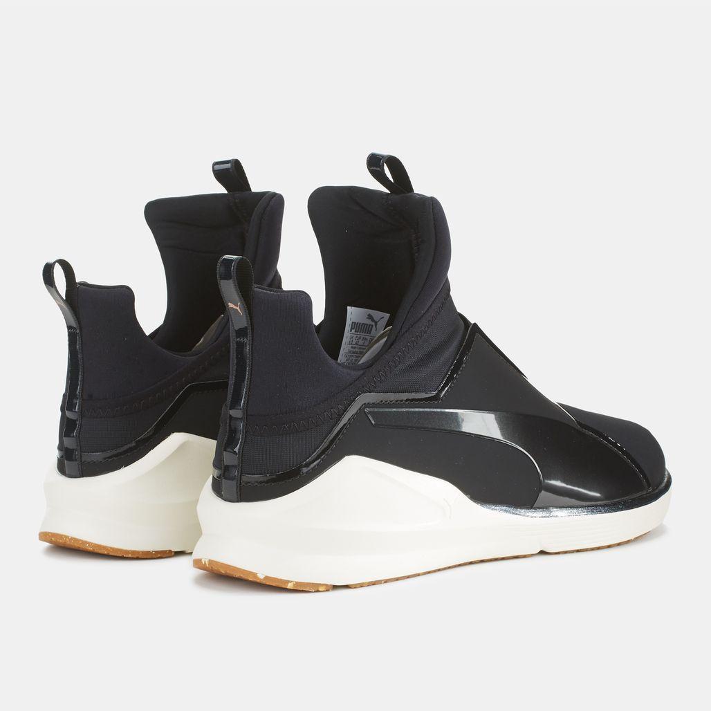 8bfaebf6fe7 Shop Black Puma Velvet Rope Fierce VR Shoe for Womens by PUMA
