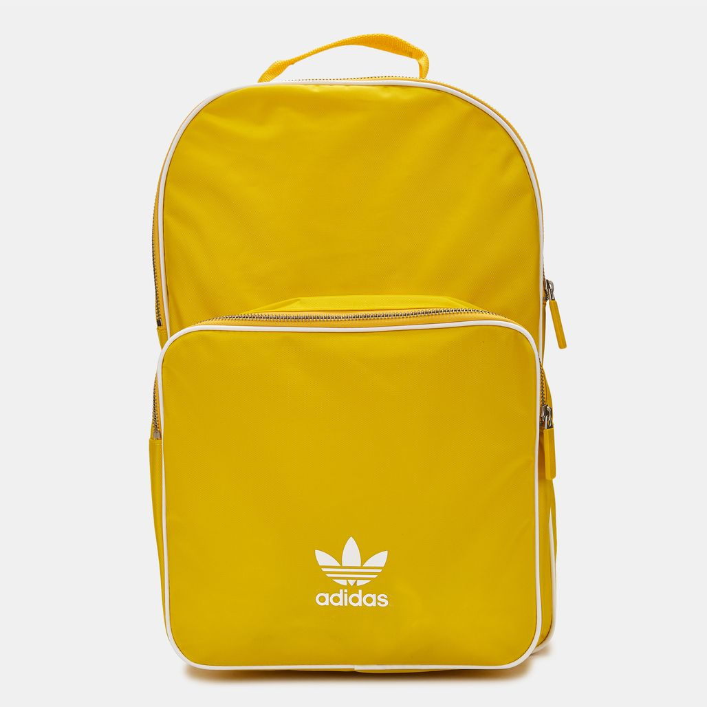 Shop Yellow adidas Originals adicolor Classic Backpack for Unisex by ... 6b239ebe45