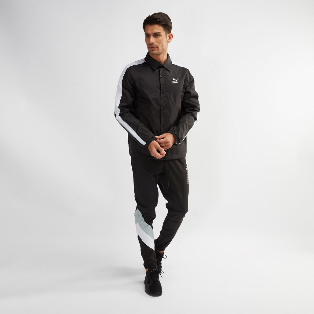 78f6394d698a Shop Black PUMA Archive Coach Jacket for Mens by PUMA