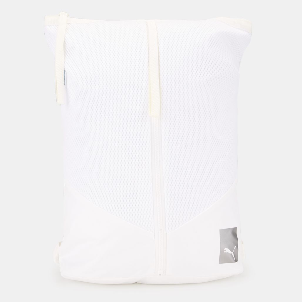 Prime Zip Backpack EP Puma White - White