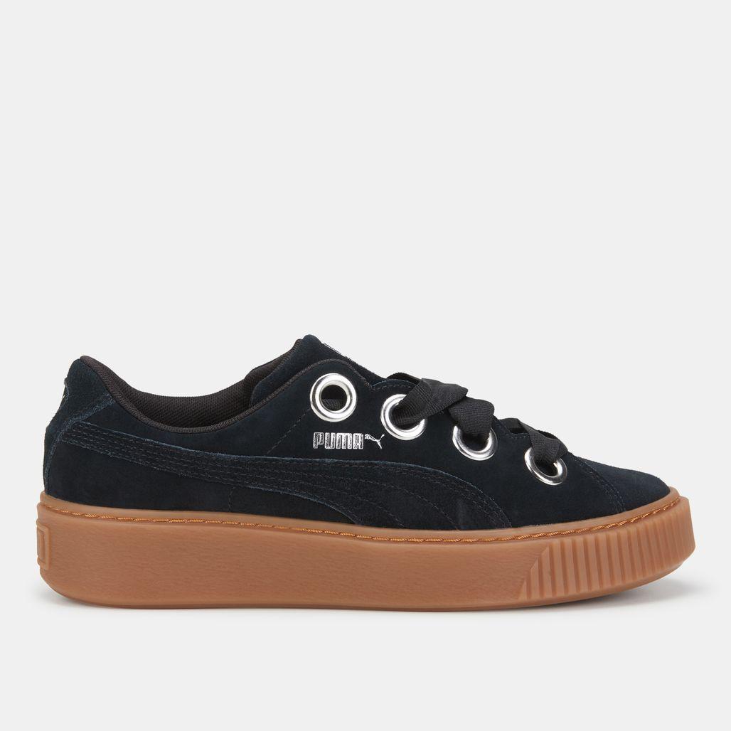 حذاء بلاتفورم كيس سويد من بوما